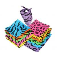 Wholesale Neon Animal Print Bandannas from china suppliers