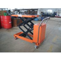 Wholesale Electric lift platform with scissors type very competitive price from china suppliers