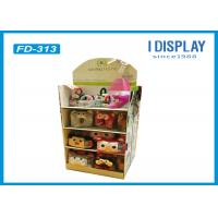 Quality Custom Retail Cardboard Display Stands For Plush Daily Necessities for sale