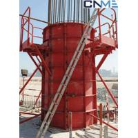 Wholesale High Stiffness Circular Column Formwork Systems Channel Steel Material Red Color from china suppliers