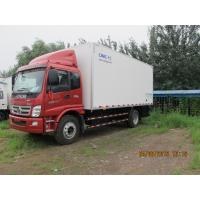 Wholesale 8 Ton FOTON CHASSIS refrigerated reefer van fridge vans for sale cargo trucks for sale from china suppliers
