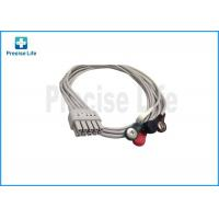Wholesale Mindray 0010-30-42906 12 Lead ECG Cable , ECG Limb Wires 0.6m Snap from china suppliers