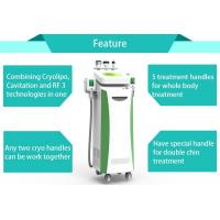 Buy cheap Professional fat freezing fast body slimming cryo therapy machine with 5 treatment handle from wholesalers