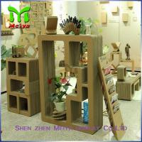 Wholesale Cartoon Corrugated Cardboard Bookcase Furniture For Display Small Toys And Books from china suppliers