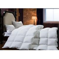 Wholesale King Size Goose Feather Duck Down Quilt Duvet , Goose Feather And Down Quilt from china suppliers