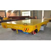 Wholesale Heavy Duty Rail Flat Electric Transfer Cart 100ton Table 1800x3000mm On tracks from china suppliers