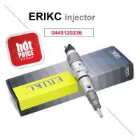 Wholesale ERIKC 0445120236 bosch common rail diesel injector 0 445 120 236 fuel truck injection 0445 120 236 for Komatsu Cummins from china suppliers