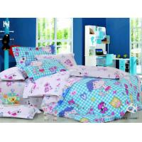 Wholesale Full Size Blue Cartoon 100 % Cotton Designer Boys Kids Bedding Set from china suppliers