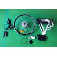 Buy cheap 26'' 250W Ebike / Electric Bike Conversion Kits with rear motor rack battery from wholesalers