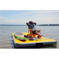 Wholesale all various sizes inflatable air mat for floating platform for relax from china suppliers
