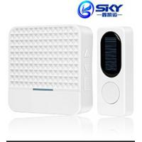 Wholesale Long Distance 433Mhz Waterproof Wireless Doorbell , 25-85 DB Volume from china suppliers
