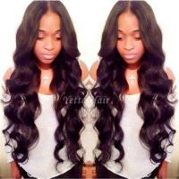 Wholesale No Chemical 100% Brazilian Human Hair Extensions Wet And Wavy Weave from china suppliers