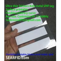 Ultra-thin Stickers Anti-metal UHF tag, Printable Tag
