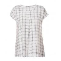 Wholesale Customized Plus Size Checkered Shirt Stylish Loose Tops In Natural Linen Fabric from china suppliers