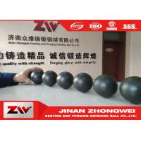 Buy cheap Cast iron and forged Grinding Steel balls , Dia 20-140mm grinding media ball from wholesalers