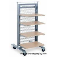 Wholesale Adjustable shelving rack with the wheels from china suppliers