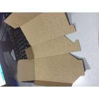 Quality E flute cardboard carton cnc making small production machine for sale