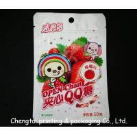 Wholesale BOPP Plastic Resealable Snack Packaging Pouches for Fruit Snack from china suppliers