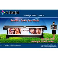 Wholesale A-Starjet Eco Solvent Double Sided Printer 1.8M for Flex Banner in Airport from china suppliers