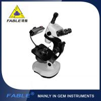 Wholesale Ellipse base Generation 3rd  Swing arm type Gem Microscope F08 Trinocular lens from china suppliers