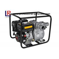Wholesale Small Portable Agricultural Water Pump 3 Inch Slurry Pump with 9 HP Gasoline Engine from china suppliers