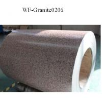 Wholesale Marble Patterned Color Coated Steel Coil , Galvanized Steel Sheet In Coil from china suppliers