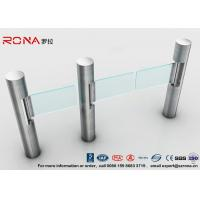 Wholesale Intelligent Automatic Swing Barrier Gate With Aluminum Alloy Mechanism with people counting systems from china suppliers