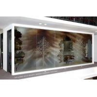 Wholesale Modern Custom Decorative Laminated Glass 12mm For Office Partition / Shower Cubic from china suppliers