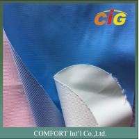 Wholesale 0.4mm 180cm Wide Plain PVC Synthetic Leather For Mattress CE REACH from china suppliers