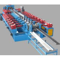 Quality Cr12 Mould Steel Framing Cold CZ Purlin Roll Forming Machine With Post Cutting for sale