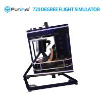 Wholesale Powerful VR Flight Simulator 3D Twist 700 Kgs Gross Weight 1 Year Warranty from china suppliers