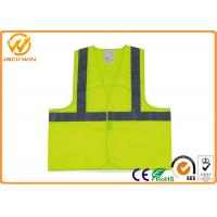 Wholesale High Visibility Reflective Safety Vests for Traffic Safety / Construction Work from china suppliers