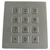 Wholesale 16 Keys Scrachproof Ps2 Metal Keypads Durable With 4 Holes Top Mounting Version from china suppliers