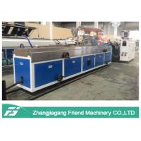 Wholesale Plastic Pellet Material Plastic Profile Production Line Single Screw Extruder from china suppliers