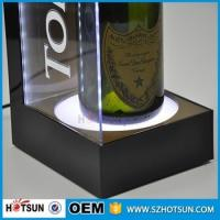 Wholesale Made in China customized bar display acrylic wine bottle led display from china suppliers