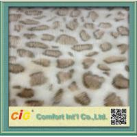 Wholesale 100% Polyester Soft Lamb Wool Fake Fur / Faux Fur Fabric For Auto Interior Upholstery from china suppliers