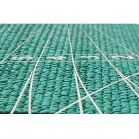 Quality Manufacturer of IAAF certified rubber athletic track 13mm green HDPD-B2 for sale