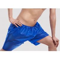 Wholesale Mens Blue Disposable Shorts Underwear ,100% PP Non Woven Men Boxer from china suppliers