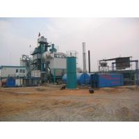 Wholesale 710m 2 Filtering Area Air Back Flushing Type Bitumen Hot Mix Plant With WAM Screw Conveyor from china suppliers