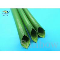 Wholesale 18mm Silicon Fiber Glass Insulated Tube Silicone Fiberglass Sleeving UL 1500V from china suppliers