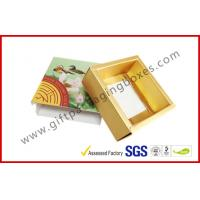 Wholesale Personalized Printed Chocolate Packaging Boxes , Food Paper Drawer Box from china suppliers