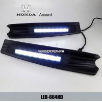 Wholesale HONDA Accord DRL LED Daytime driving Lights automotive led light kits from china suppliers