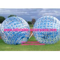 Wholesale Blue Dots Inflatable Zorb Ball For kids from china suppliers