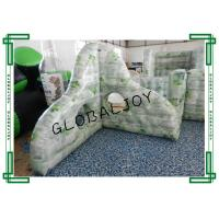 Wholesale 0.9MM PVC Inflatable Paintball Barriers War Game Broken Wall 1.8m Height from china suppliers