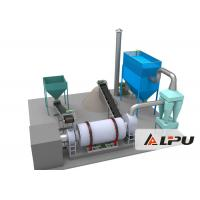 Quality Three Drum Dryer Sand Drying Equipment in Fly Ash Mineral Slag for sale
