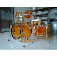 Wholesale Brand New Small Size 5-pc Acrylic Drum Set with Tube Lugs by 3 colors available from china suppliers