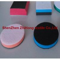 Wholesale Customized Hook Loop Fastener Holder Polishing Pad's blocks With foam from china suppliers