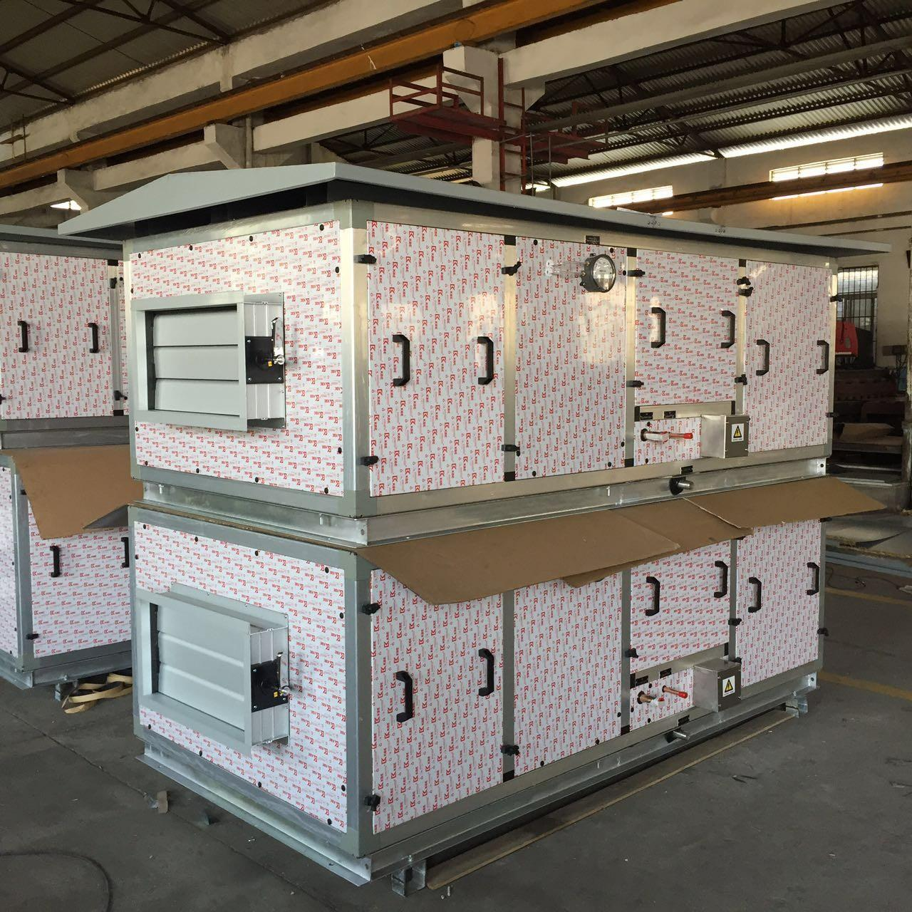 Wholesale 460V / 3PH / 60Hz DX Air Handling Unit with Canopy for Outside Installation from china suppliers