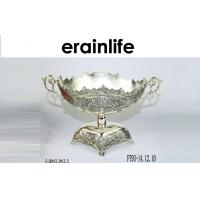 Wholesale Metal Fruit Tray / Contemporary Fruit Bowls Recycle For Home Decor Festival Gift from china suppliers
