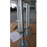 Wholesale Construction Scaffolding Adjustable Base Jack With Swivel Base Plate from china suppliers